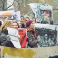 protest against fossil fuels for rnewables February 2015 Kiev (photo 350.org)