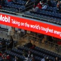 ExxonMobil placard in 2008 (photo Adam Fagen)