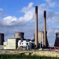 Ferrybridge C Power Station in West Yorkshire closed in March 2016