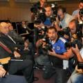 OPEC meeting in Algiers with Algeria's minister of energy Noureddine Boutarfa