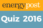 Energy Quiz 2016 – the answers!