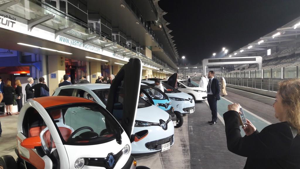Atlantic Council on the Abu Dhabi F1 circuit