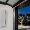 Tesla Powerwall installed in garage