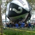 carbon bubble protest (photo Susan Melkisethlan)