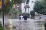 flood in the UK in 2007 (photo Shelly Jo)