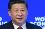 Chinese President Xi Jinping at Davos photo World Economic Forum