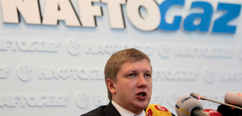 Naftogaz CEO Kobolyev announces victory at Stockholm Arbitration Court