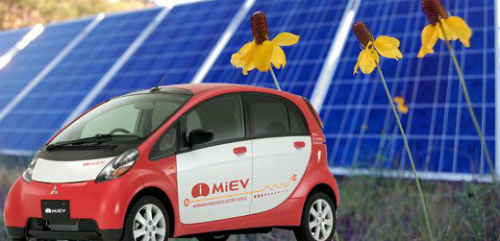 The celebrity couple: intermittent renewables and electric cars