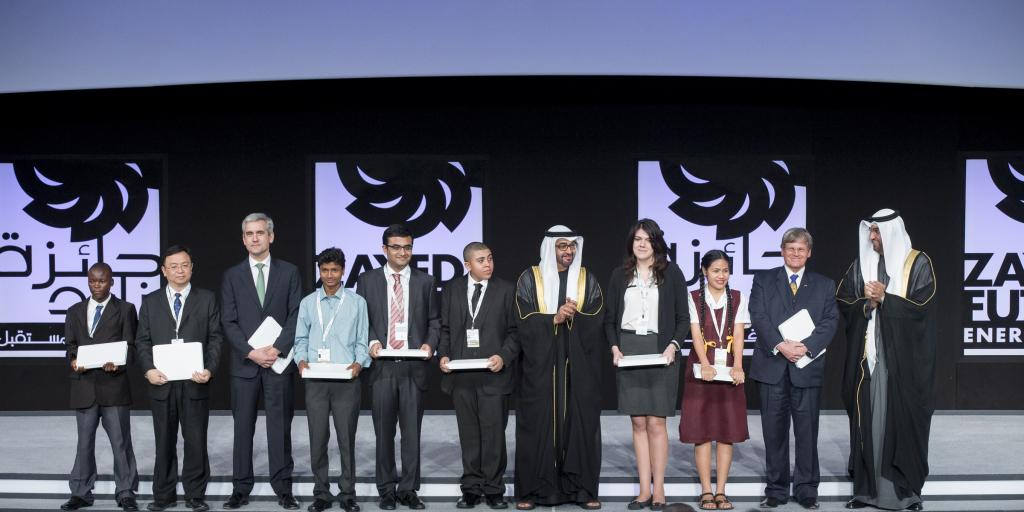 Zayed Future Energy Prize 2014 winners