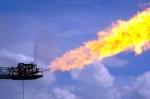Flare boom (photo Ken Doerr)