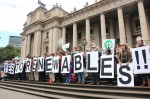 Pro-renewables demonstration in Victoria, Australia (photo Takver)