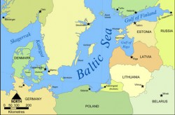The-Map-of-the-Baltic-Sea