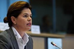 Alenka Bratušek under fire in the European Parliament (photo Europe by Satellite)