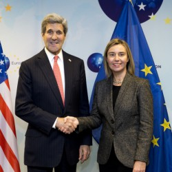 John Kerry and Federica Mogherini at US-EU Energy Council December 2014 (photo EU)