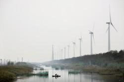 Windmills in China (photo Danish Wind Industry Association)