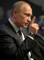 Putin at World Economic Forum in 2009 (photo World Economic Forum)