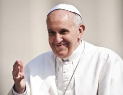 Pope Francis (photo Catholic Church England)