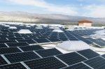 Solar panels on Palm Desert Walmart (photo Walmart)