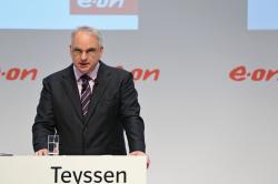 Teyssen presents new strategy on 2 December 2014 (Photo: Eon)
