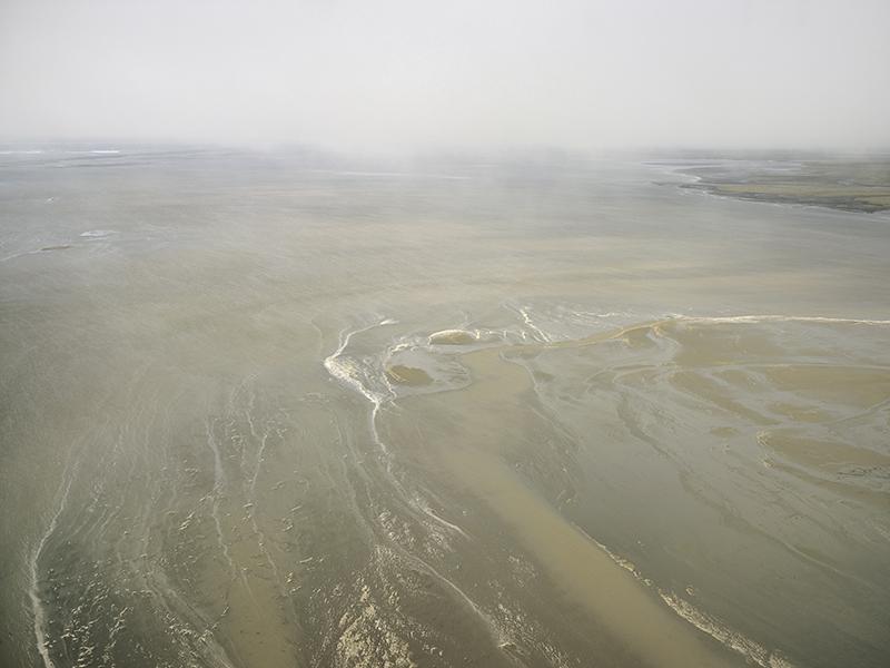 Storm over Kasegaluk lagoon (photo Subhankar Banerjee)