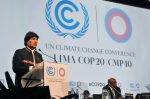 Inauguration COP20 Climate Conference in Peru (photo Ministry of Foreign Affairs Peru)
