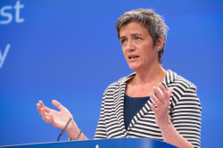 Margrethe Vestager (photo Europe by Satellite)