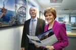 First Minister Nicola Sturgeon meeting with Sea Energy Aberdeen