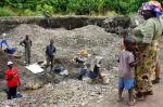 Mining activity in the Democratic Republic of Congo (photo Cornelia Now blog)