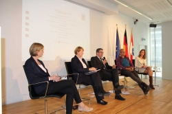 the panel debate in Brussels (photo: Vertretung des Landes Hessen Brüssel)