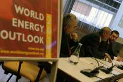World Energy Outlook 2011 (photo IAEA Imagebank)