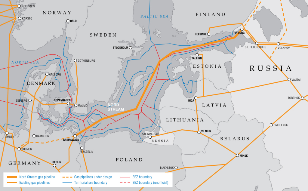 map-nord-stream-en Gazprom