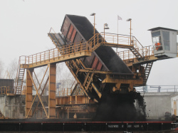 Vattenfall's Lausitz lignite plant (photo Robin Wood, November 2015)