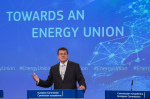 Maros Šefčovič  presents Energy Union Communication on 18 November (photo Europe by Satellite)