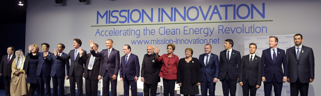 political leaders at COP21 on 30 November 2015