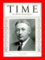 Torkild Rieber on Time Magazine cover, 1936