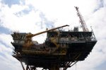 Oil rig on the Gulf Coast (photo NWF Blogs)