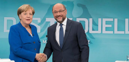Merkel and Schulz-slider