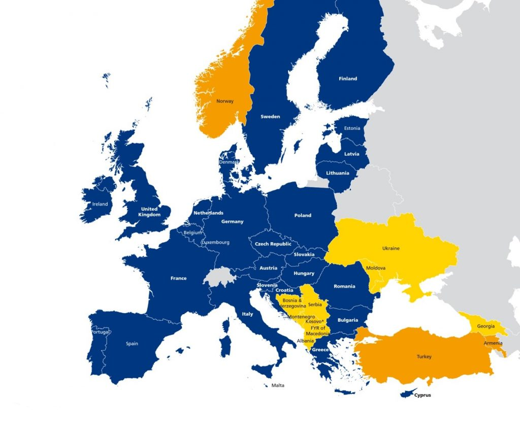 Map Of Georgia Eu.Energy Community Sets Stage For Clean Energy Transition In South