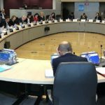 The EC project team meeting on the new strategy on 10 October.
