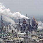 do carbon taxes work Exxon Mobil oil refinery Baton Rouge Louisiana