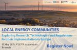Workshop on Local Energy Communities – Exploring Research, Technologies and Regulations for their Implementation in Europe