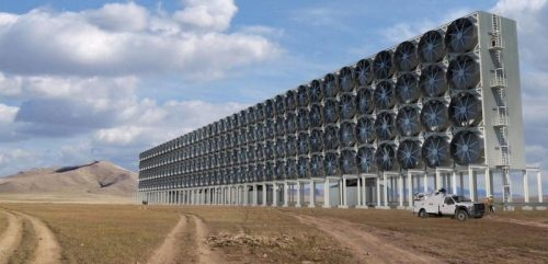 Extract CO2 from our air, use it to create synthetic fuels