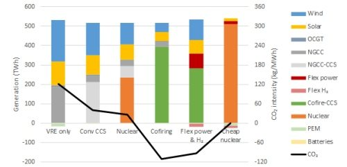 An independent Global Energy Forecast to 2050 (part 4 of 5): Nuclear, biomass and CCS