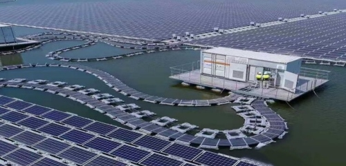 Ten highlights of floating solar PV power station on water