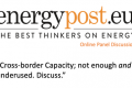 Energy Post panel discussion – Cross-Border Capacity [VIDEO]
