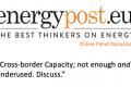 Energy Post panel discussion – Cross-Border Capacity [VIDEO]