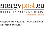 Energy Post panel discussion - Cross-Border Capacity [VIDEO]