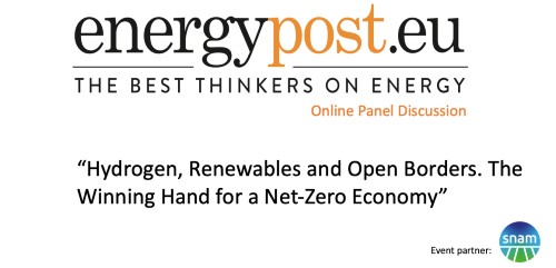 Hydrogen, Renewables and Open Borders [VIDEO]