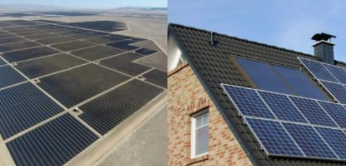 Why promote Rooftop Solar when the Grid is so much cheaper?