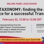 EU Taxonomy: Gas as a transition fuel needs Green Deal support too